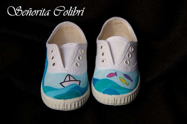 zapatillas personalizadas pintadas a mano
