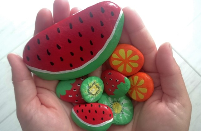 juegos con frutas mayninetes